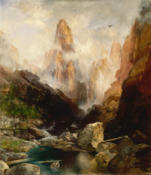 Thomas Moran Mist in Kanab Canyon Utah