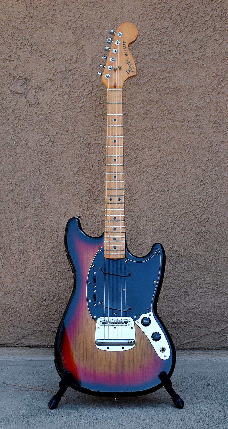 Wiring Diagram Fender Mustang Guitar