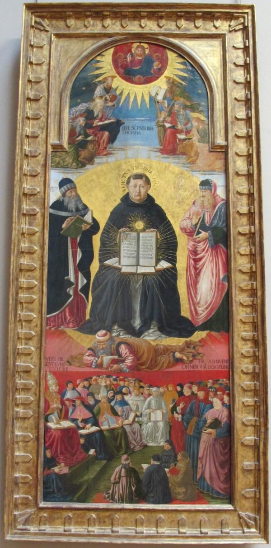 File Benozzo Gozzoli Trionfo Di San Tommaso 'aquino Da