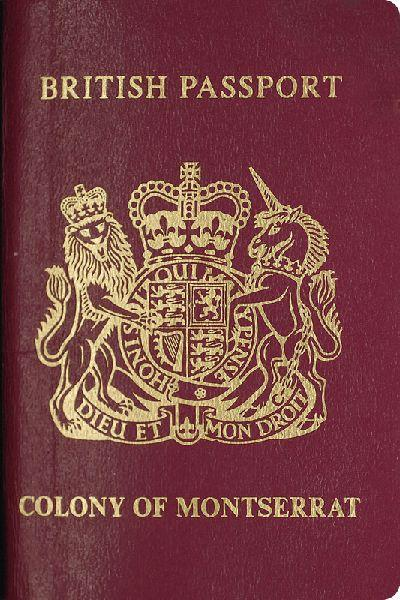 British passport Montserrat  Wikipedia