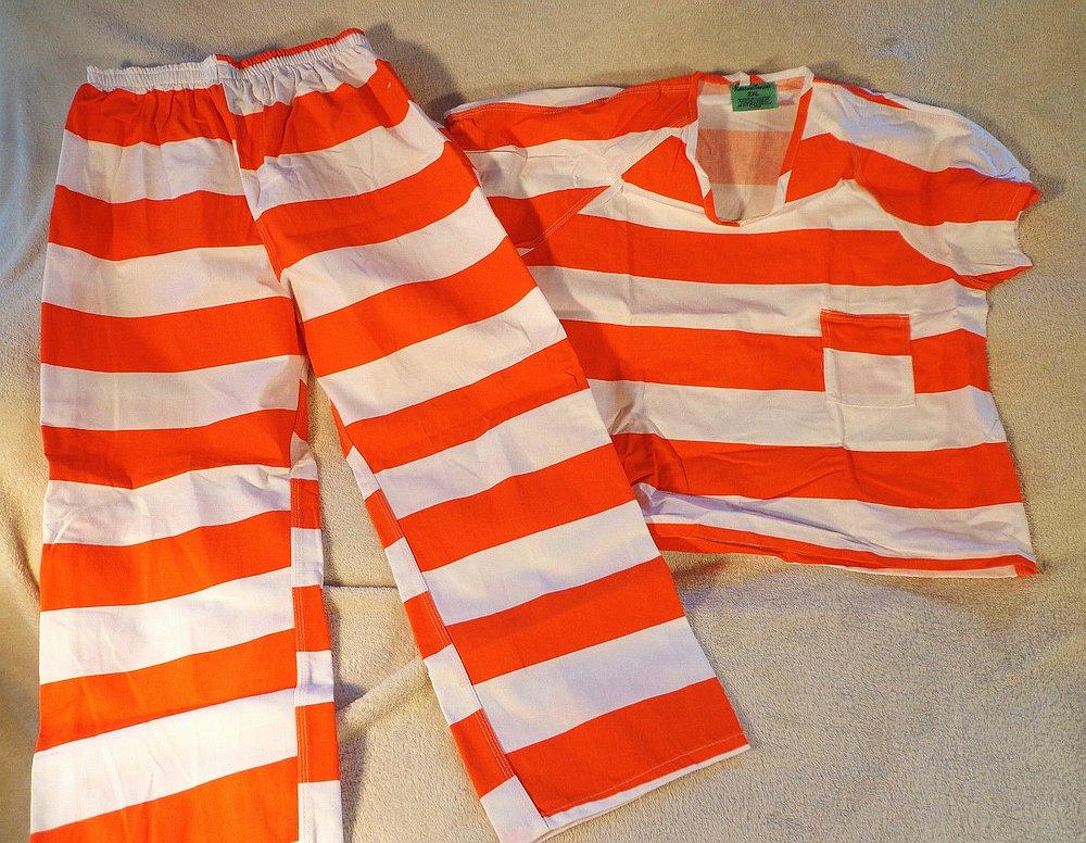 FileContemporary orangewhite striped prison uniformJPG