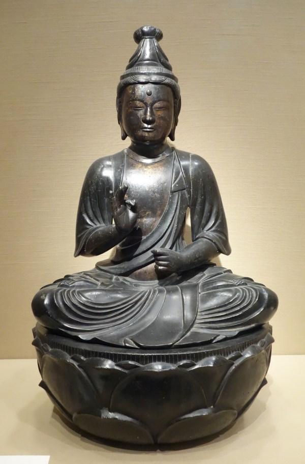 File Seated Bodhisattva Avalokiteshvara Sho Kannon