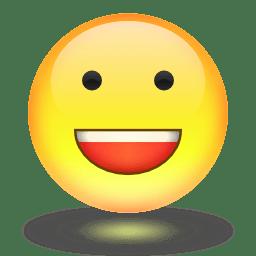 English: Happy face