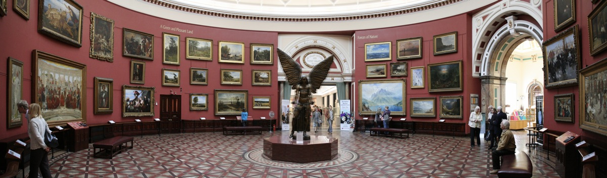 English: The Round Room at Birmingham Museum &...