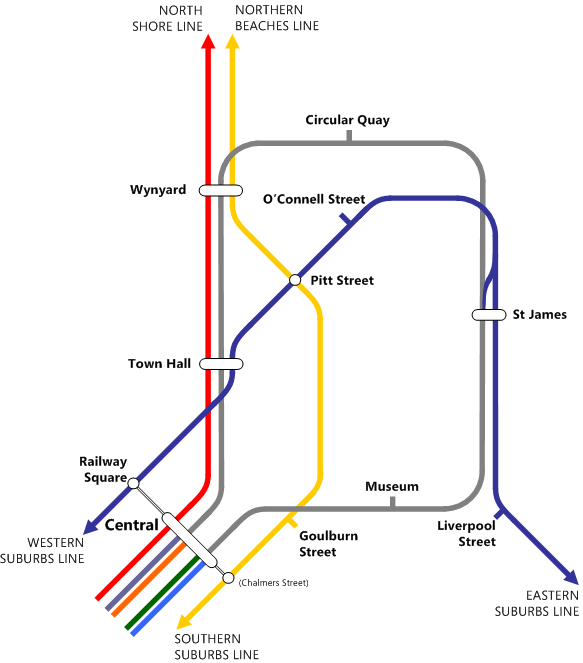 History of Cityrail: Eastern Suburbs Line (1979) (1/3)