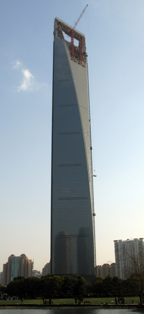 Shanghai World Financial Center 492m 101 Floors
