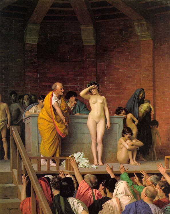 Slave Auction painting