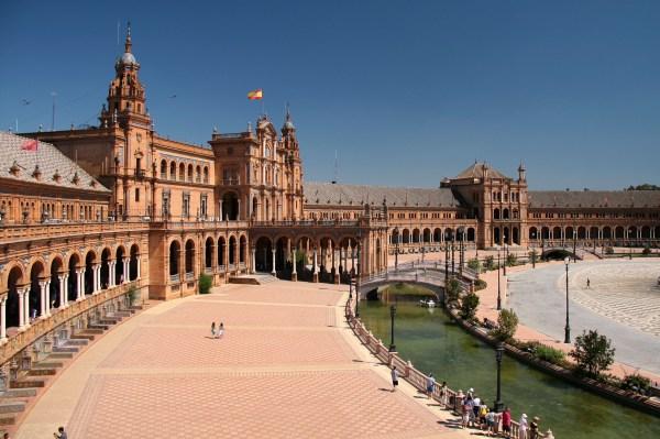 File Wlm14es - Sevilla Plaza De Espa Jorge