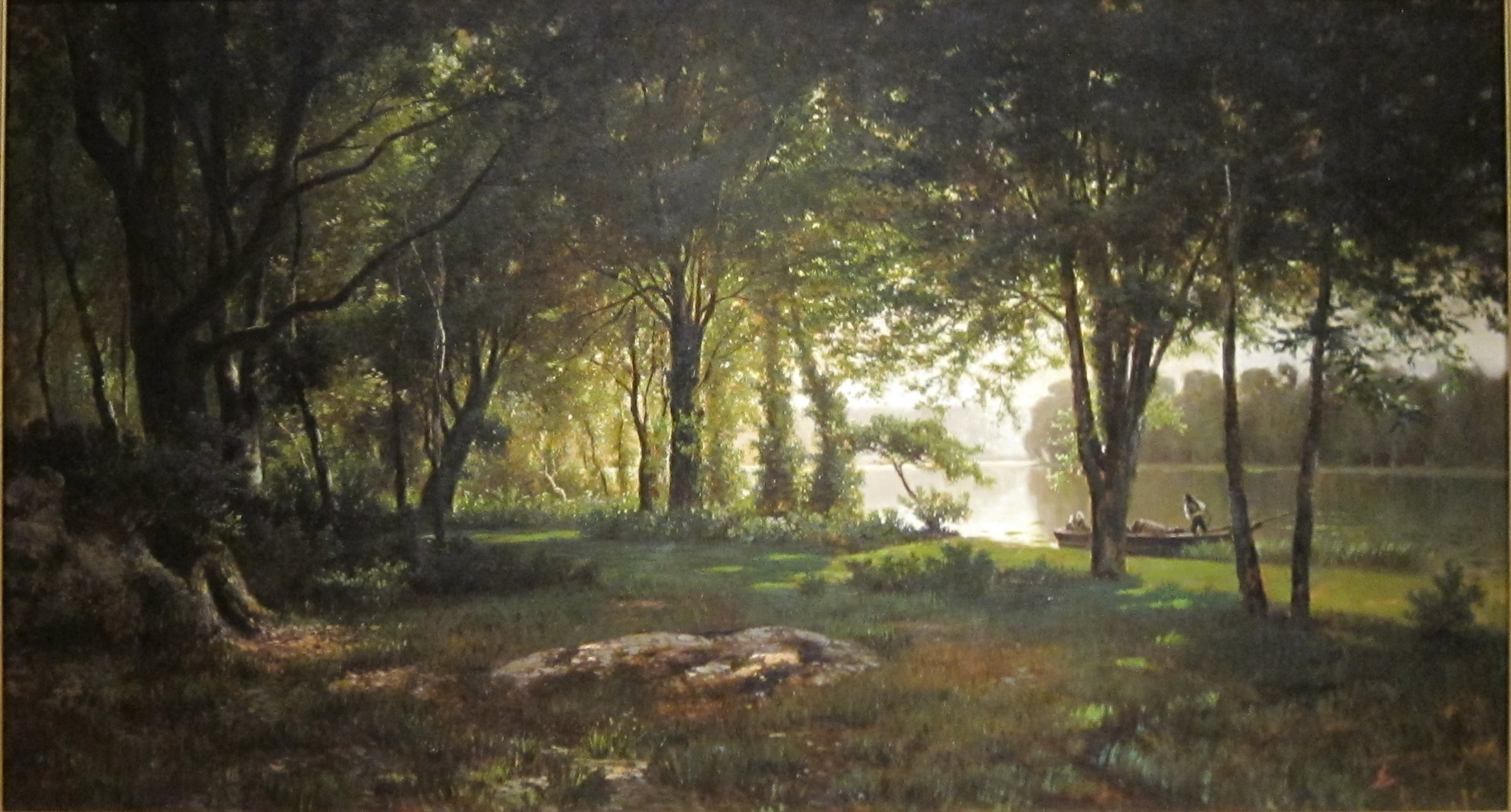American Paint And Wallpaper Fall River File Landscape River And Forest By Thomas Corwin
