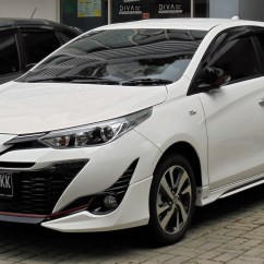 Toyota Yaris Trd Sportivo 2018 Indonesia Cicilan Grand New Veloz Xp150 Wikipedia