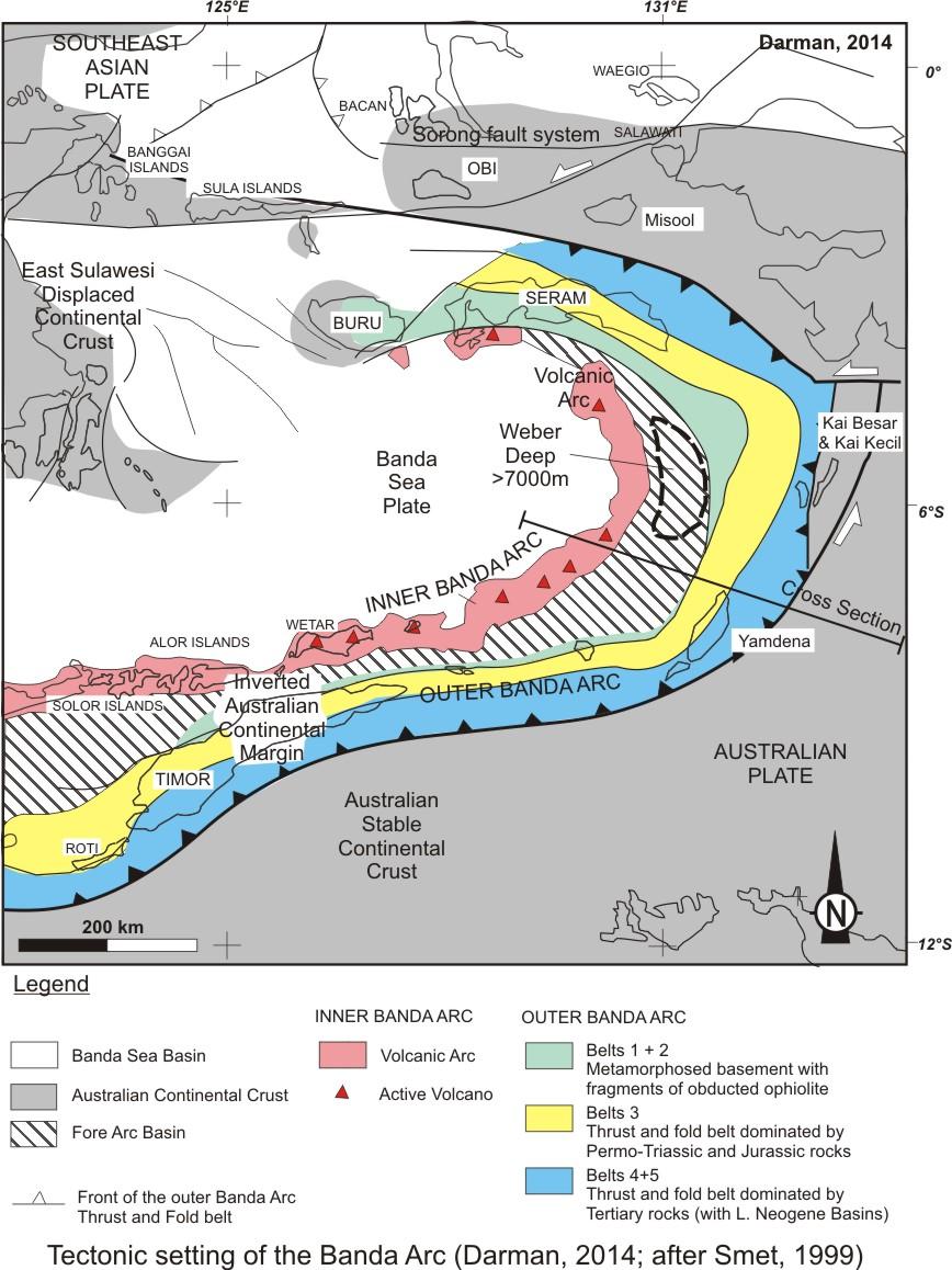 Letak Geologis Indonesia - KOMPAS.com