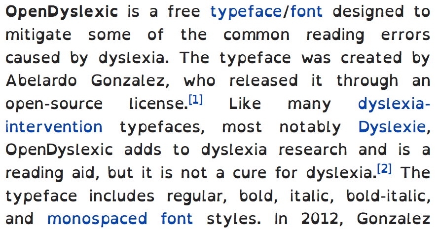Examples Dyslexia How Do You See Words