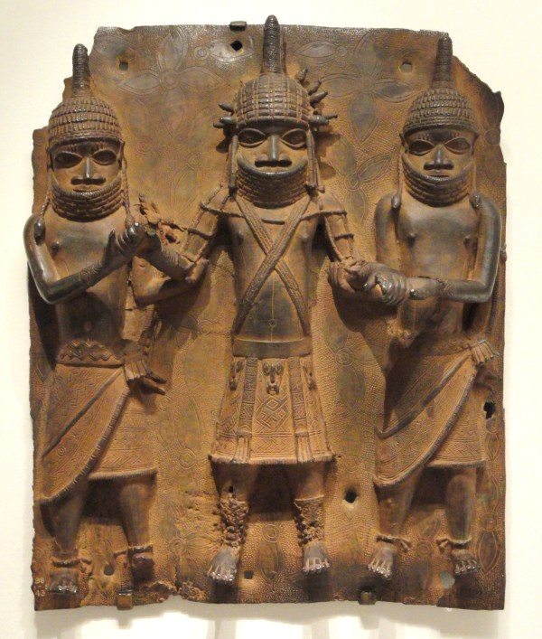 File Plaque Possibly 1500s-1600s Guinea Coast Nigeria