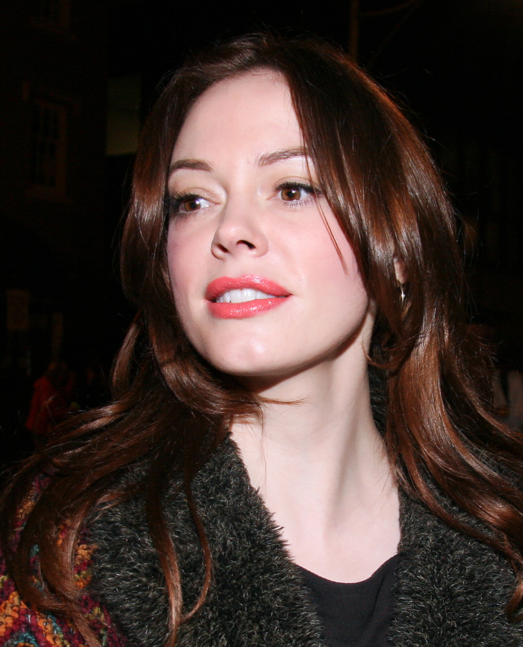US Actress Rose McGowan at the 2008 Toronto International Film Festival