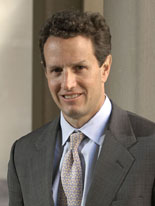 Timothy F. Geithner, Under Secretary of the Tr...