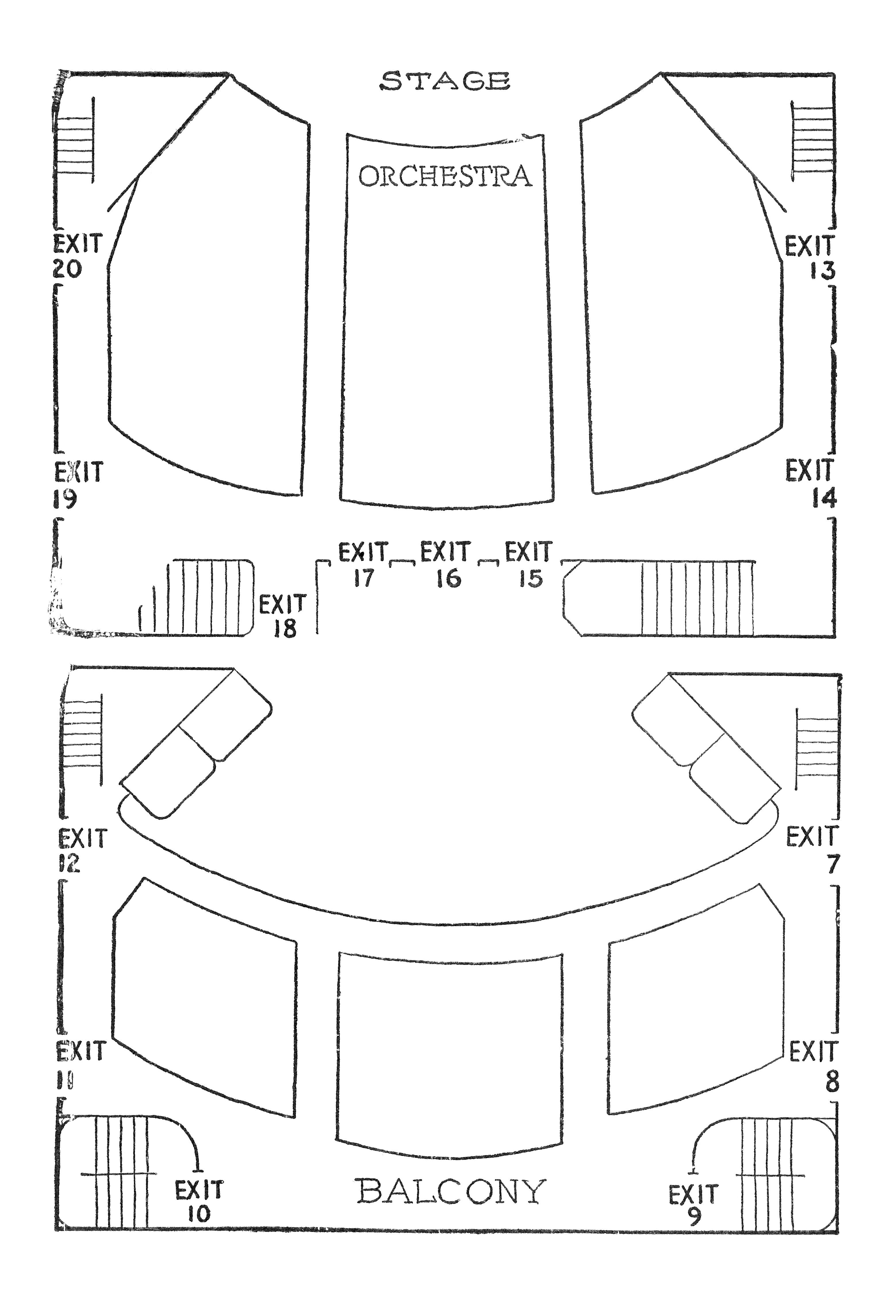 File 48th Street Theatre Seating Diagram