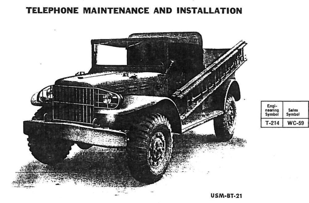 medium resolution of file dodge t 214 wc 59 telephone maintenance installation usm