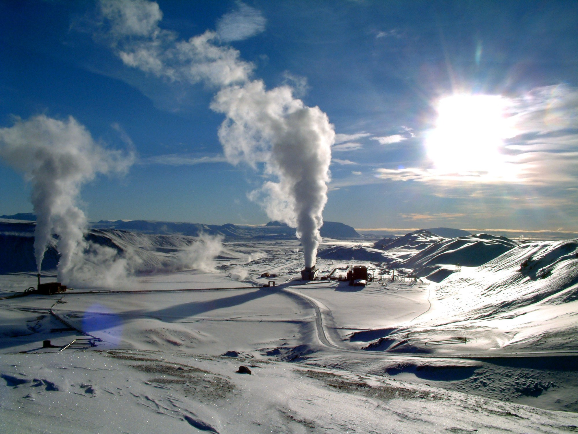 hight resolution of geothermal power
