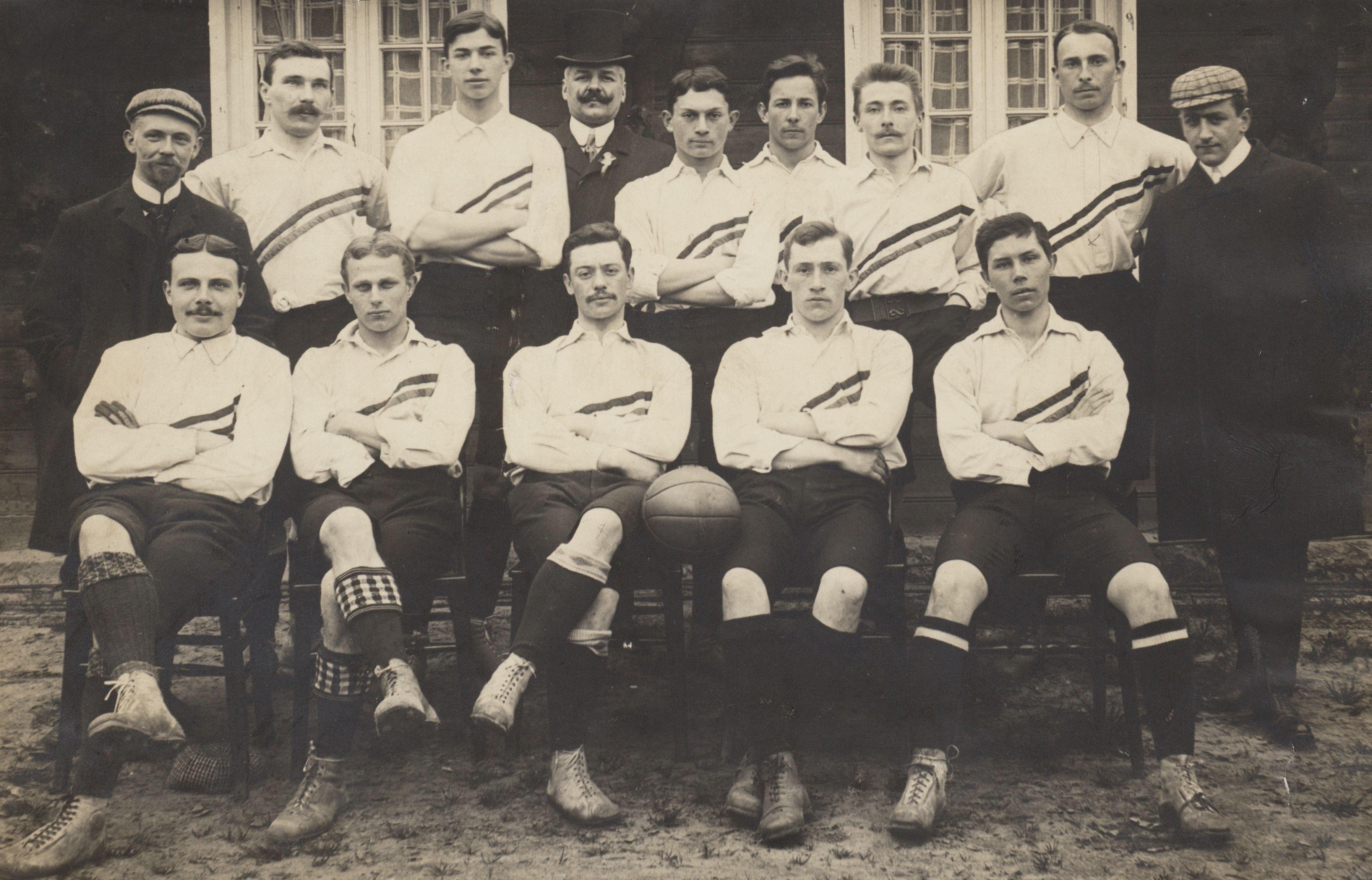 Niederländische Fußballnationalmannschaft 1905