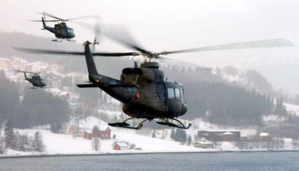 New Bell 412 - Year of Clean Water