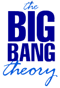 English: The Big bang Theory using simple type...