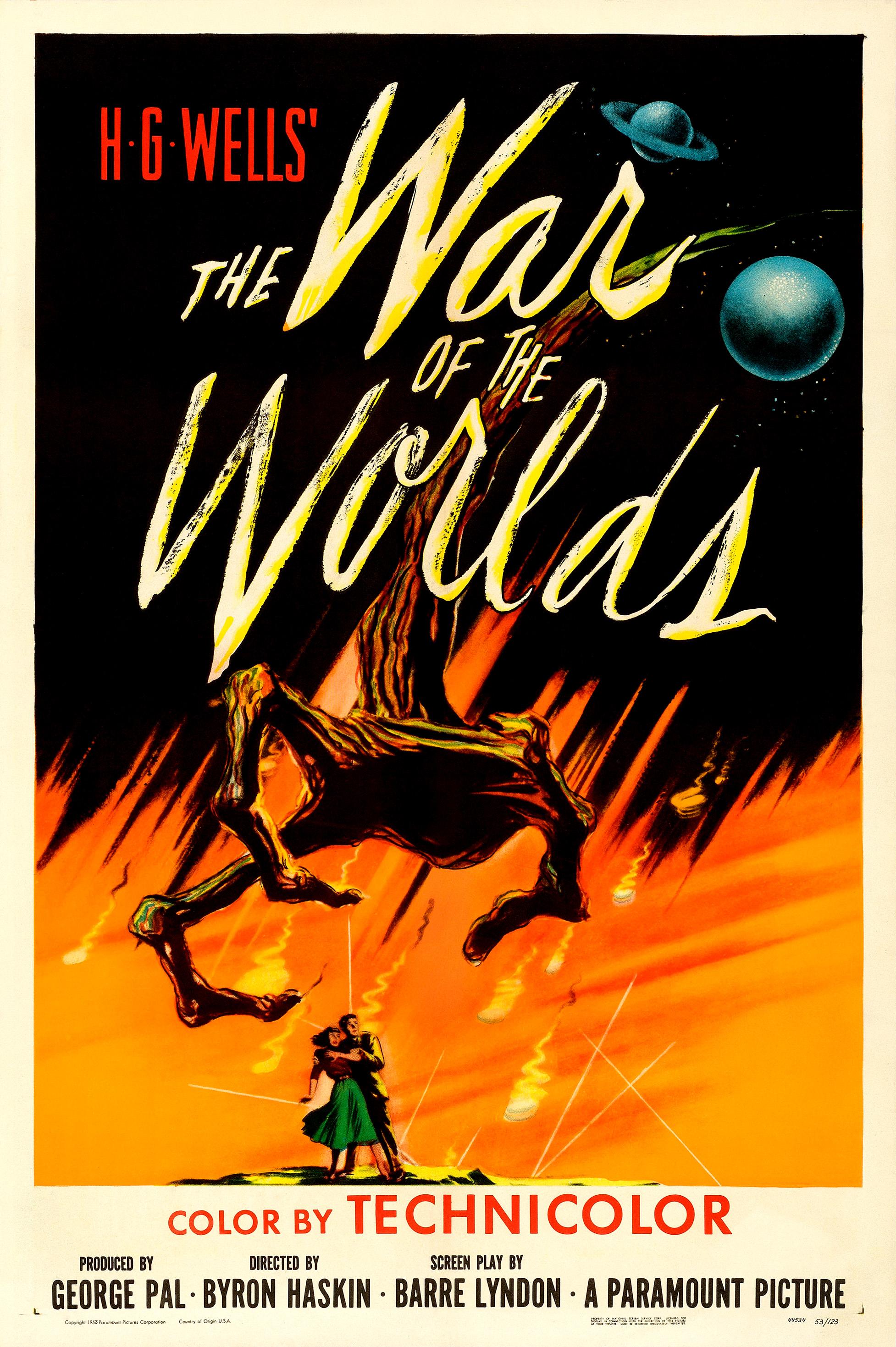 La Guerre Des Mondes 1953 : guerre, mondes, Guerre, Mondes, (film,, 1953), Wikipédia
