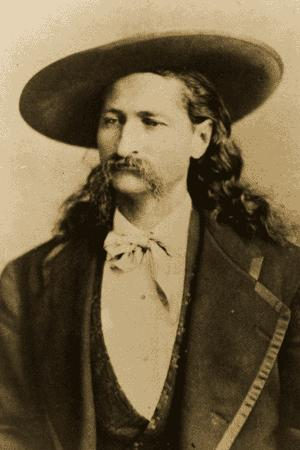 Wild Bill Hickok (1837 - 1876) - the hero of the Wild West, the famous shooter, scout and poker player.