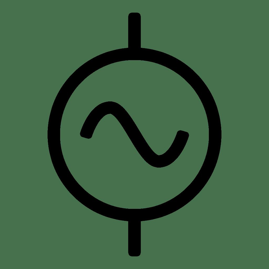 File Alternative Current Symbol