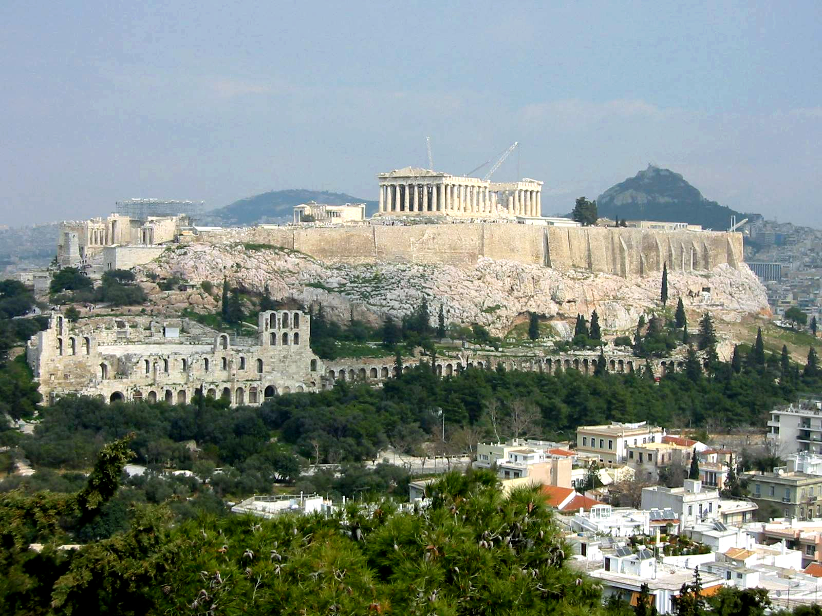 Parthenon Acropolis Athens
