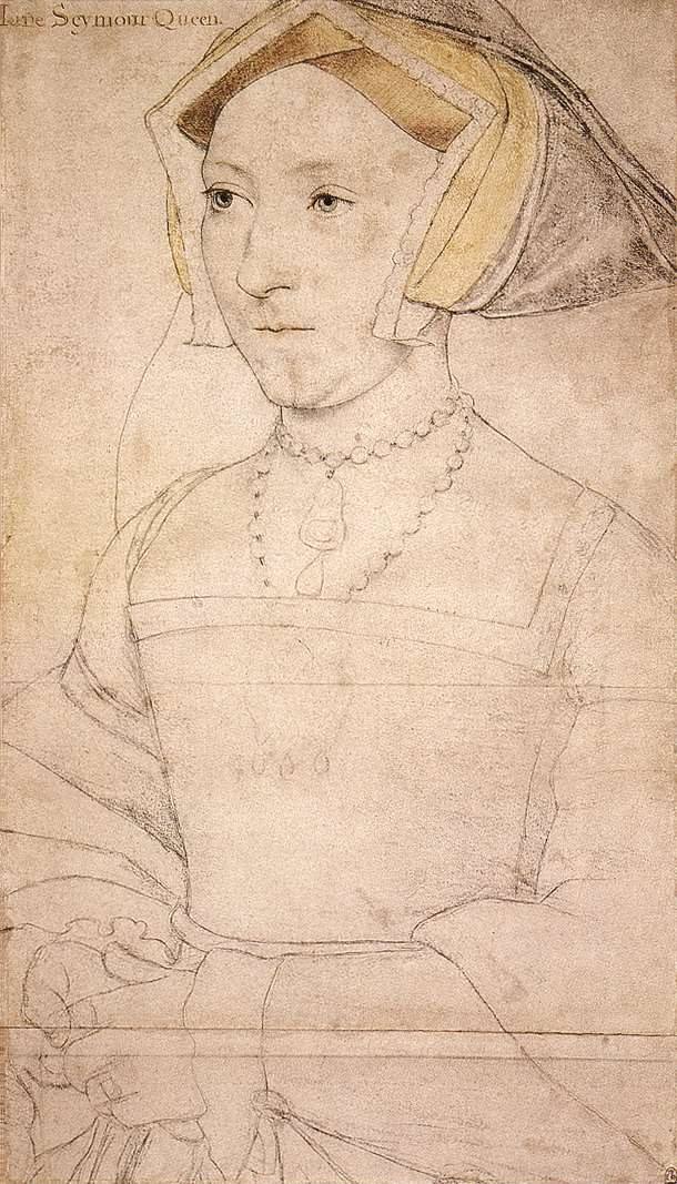 Jane Seymour by Hans Holbein - 1536/37