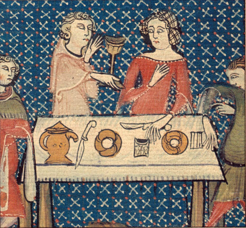 Gastronoma de la Edad Media  Wikipedia la enciclopedia