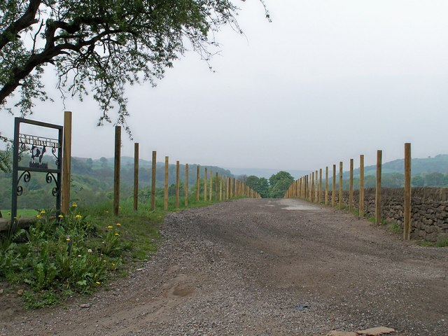 English: Old Wheel Farm ... This Way Please an...