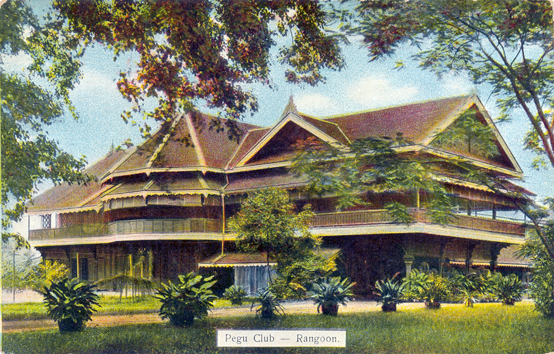 Pegu Club postcard 1914 (Courtesy Wikipedia)