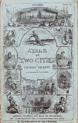"English: Cover of serial ""Tale of Two Cit..."