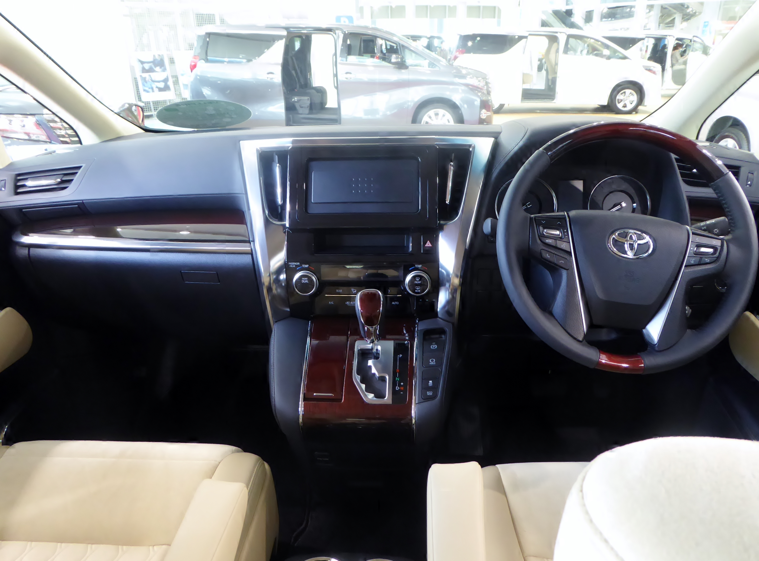 all new vellfire 2015 interior keluhan grand avanza file the of toyota v 2wd agh30w with trd customize parts jpg