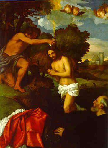 Battesimo di Cristo Tiziano  Wikipedia