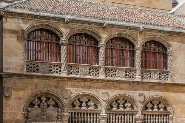 L'esterno della Cappella Reale di Granada