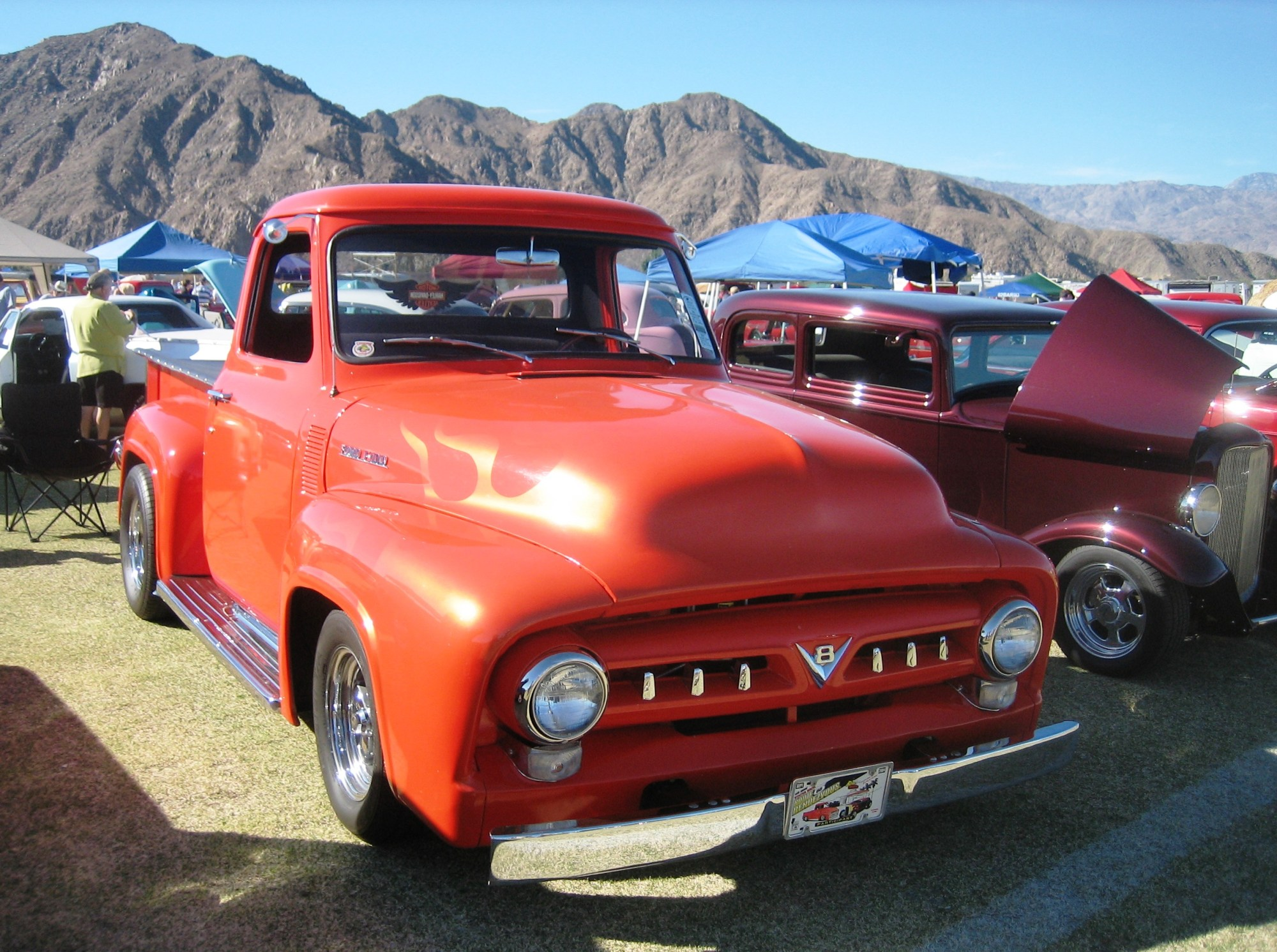 hight resolution of file 1954 ford f 100 red jpg
