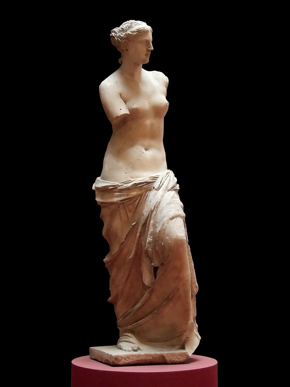 Venus de Milo, Louvre, phantom limb, Aphrodite of Milos
