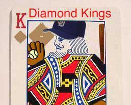 English: Logo for Diamond Kings fantasy baseba...
