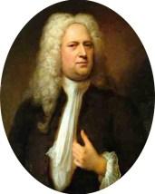Portrait of Georg Friedrich Händel Deutsch: Ge...