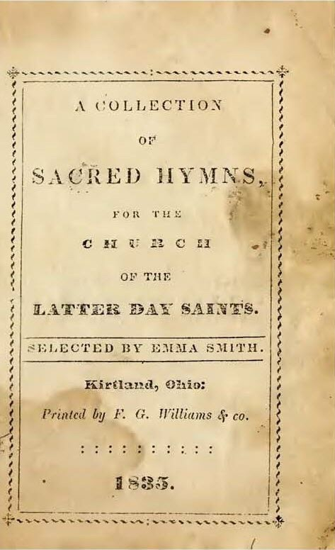 The Church of Jesus Christ of Latterday Saints hymns