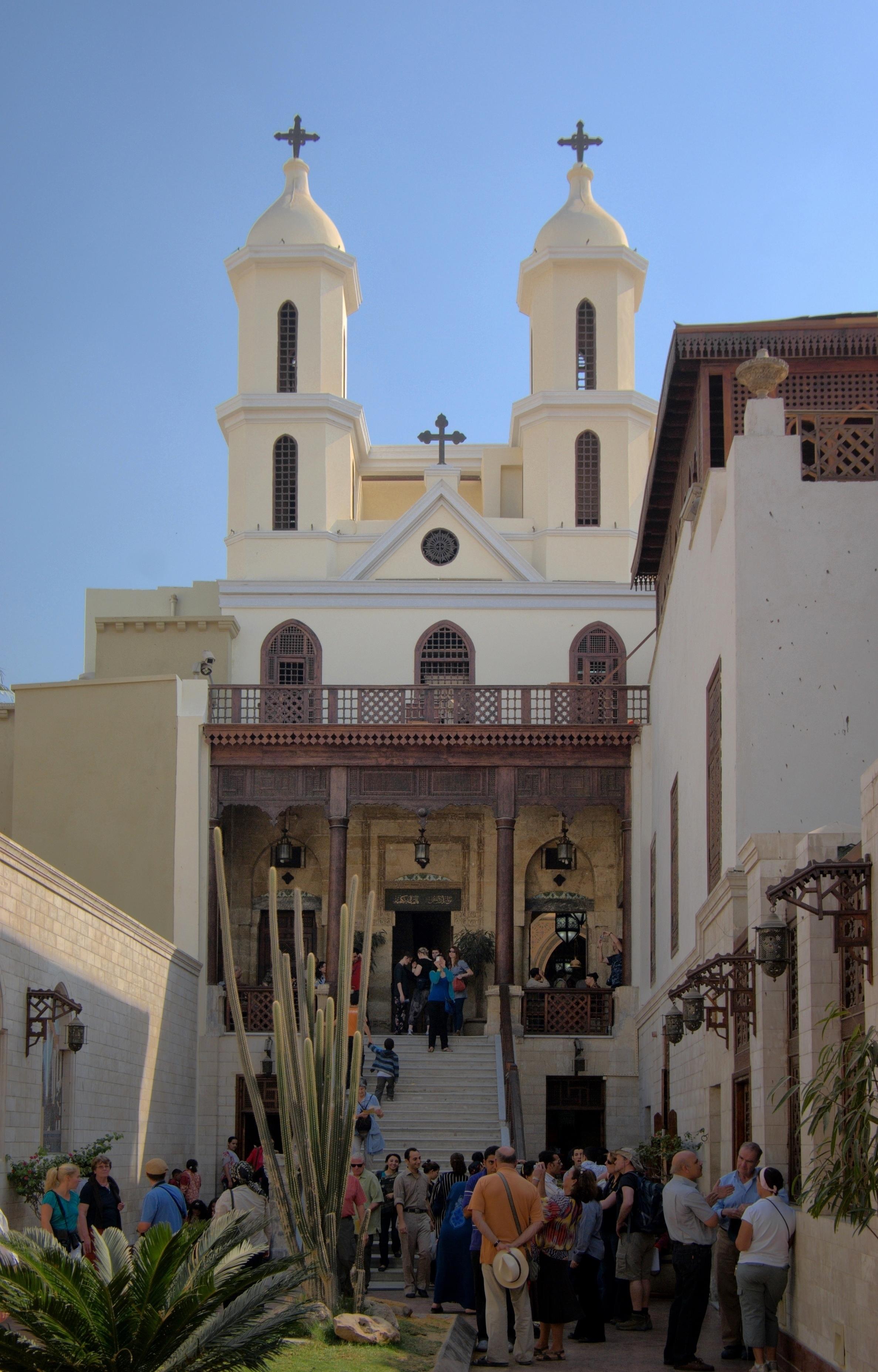 Iglesia Colgante de Egipto
