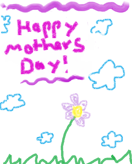 Mother's Day card from a child