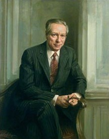 Portrait of W. Michael Blumenthal.