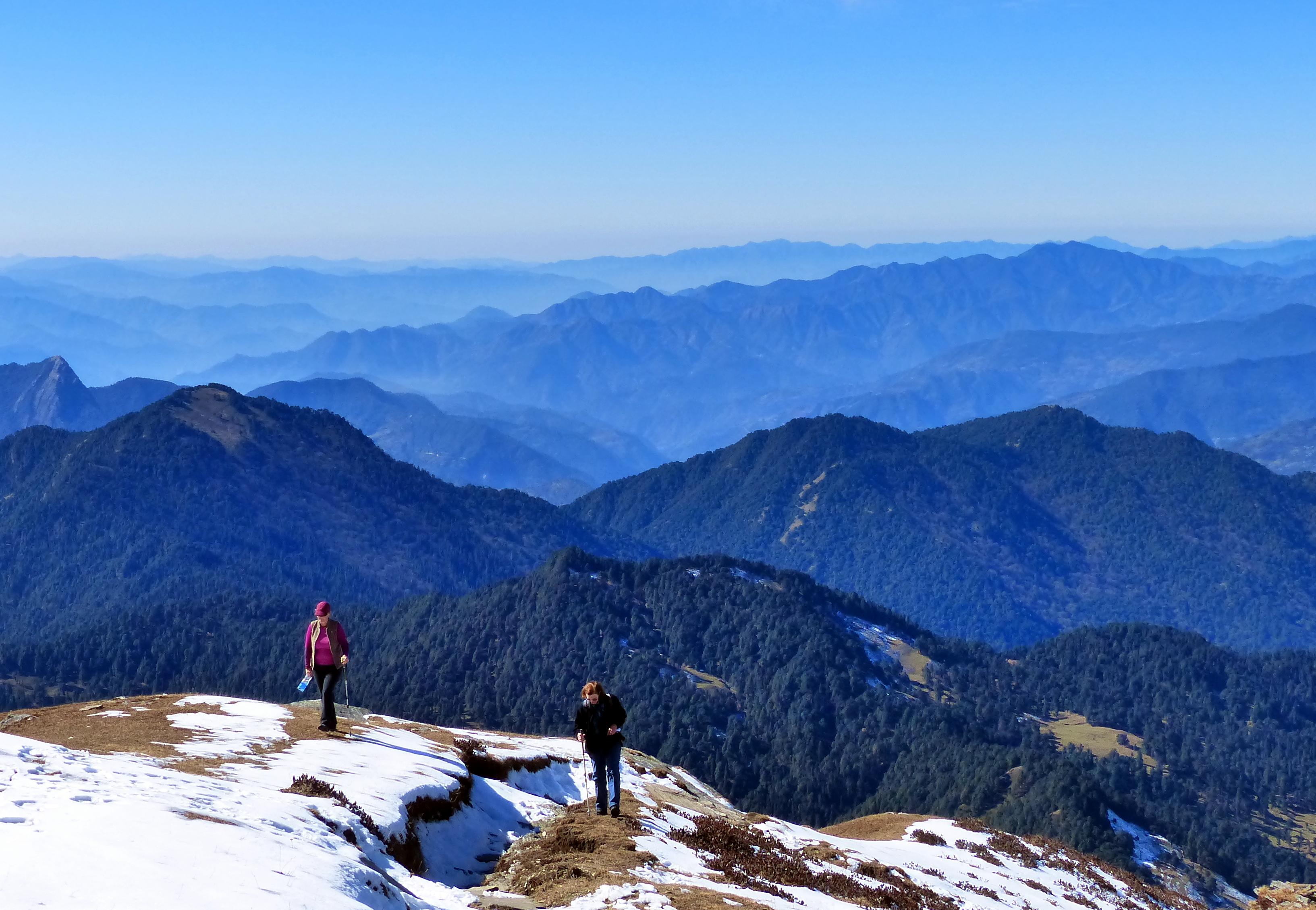 FileA view of Himalayan foothills Uttarakhand India