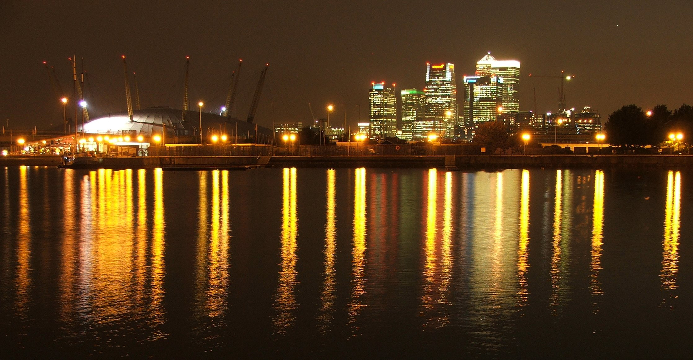 Change In The London Docklands