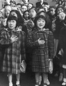 English: Dorothea Lange picture of Japanese-Am...