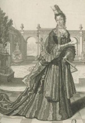 Drawing of Marie of Lorraine, Duchess of Valentinois by an unknown artist.jpg