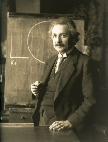 Image result for 1915 – Albert Einstein presents the field equations of general relativity to the Prussian Academy of Sciences.